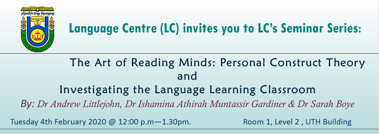 Seminar on Language Learning