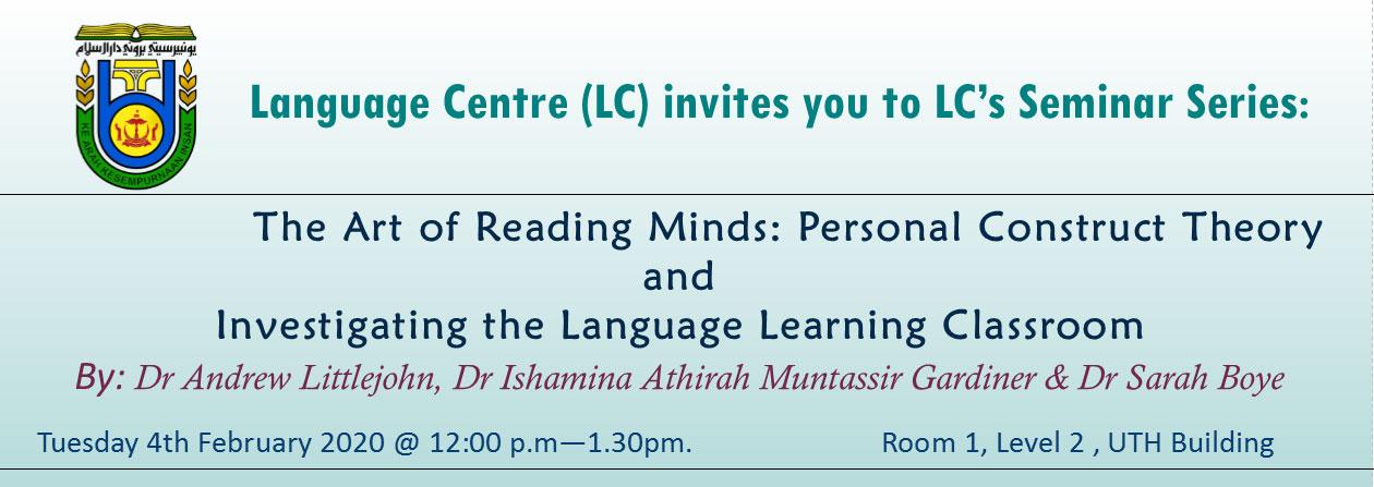 Seminar on Language Learning