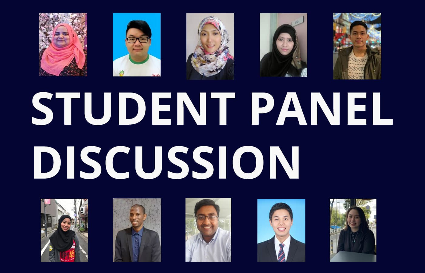 Student Panel Discussion on Covid-19, Society & Education