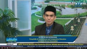 ICE Member Dr Najib Noorashid on Royal Television Brunei