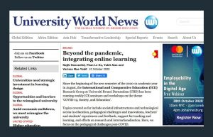 ICE Members Publish in University World News