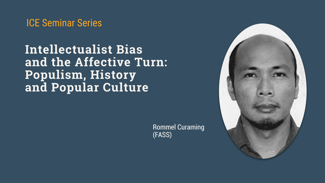 Read more about the article Seminar on Intellectualist Bias and the Affective Turn