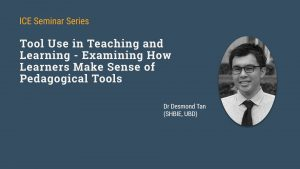 Seminar on How Learners Make Sense of Pedagogical Tools