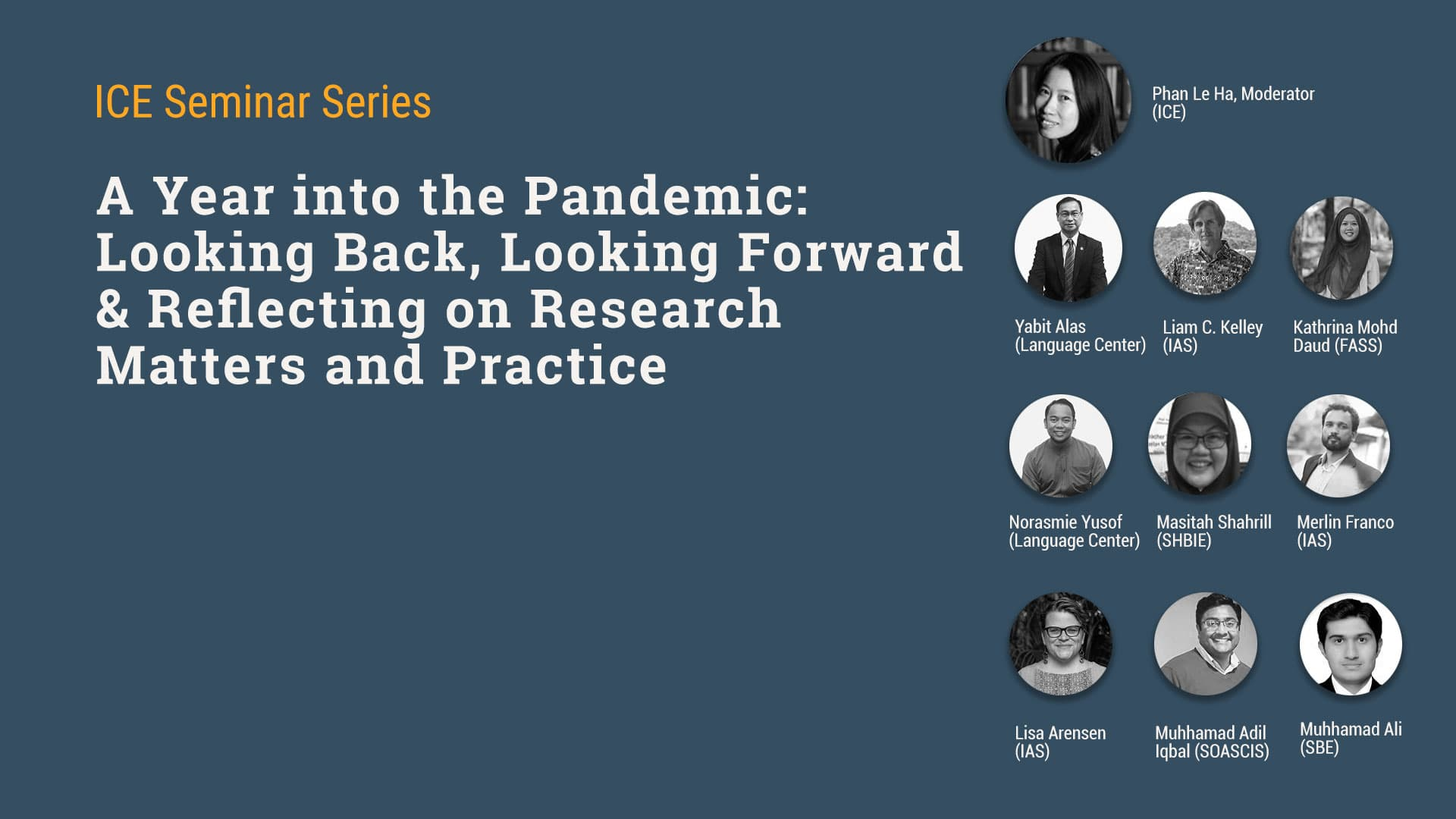 Forum on Research During the Pandemic