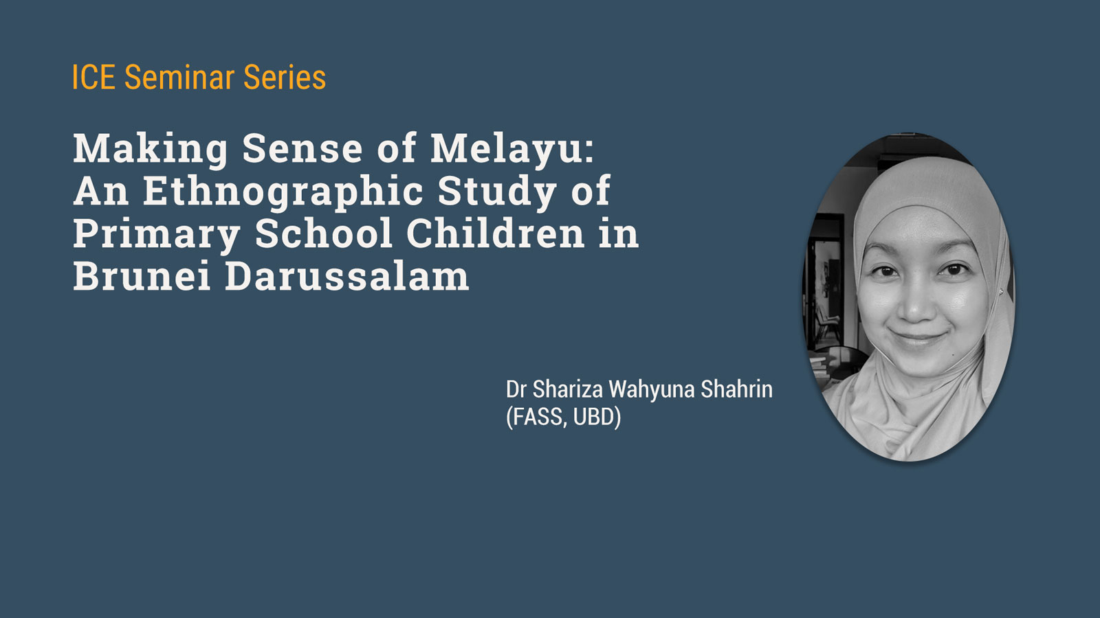 Seminar on Children's Understanding of Melayu (Malay)